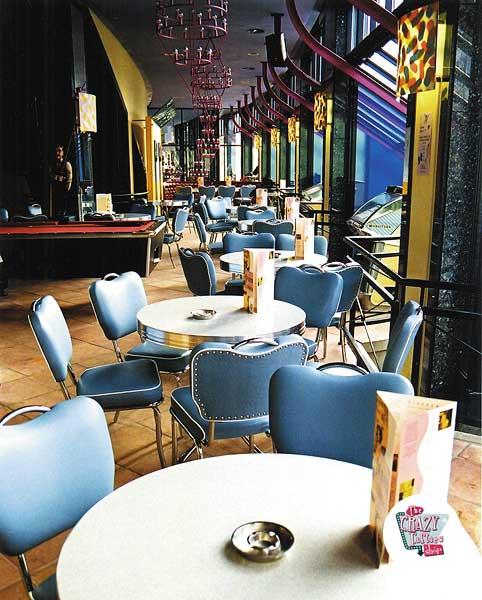 Kafeteria møbler Retro