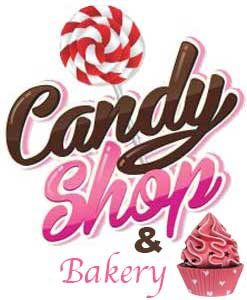 Figurer Dekoration Tematisk butik Candy and Pastry