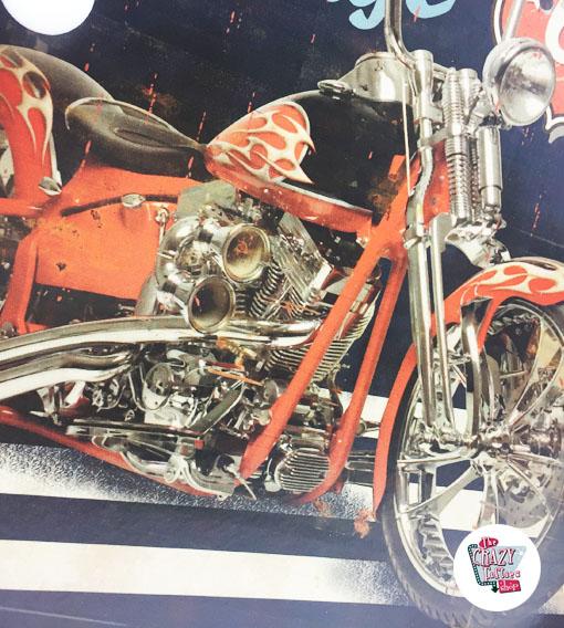 Brillante Vintage Poster Harley percorso 66