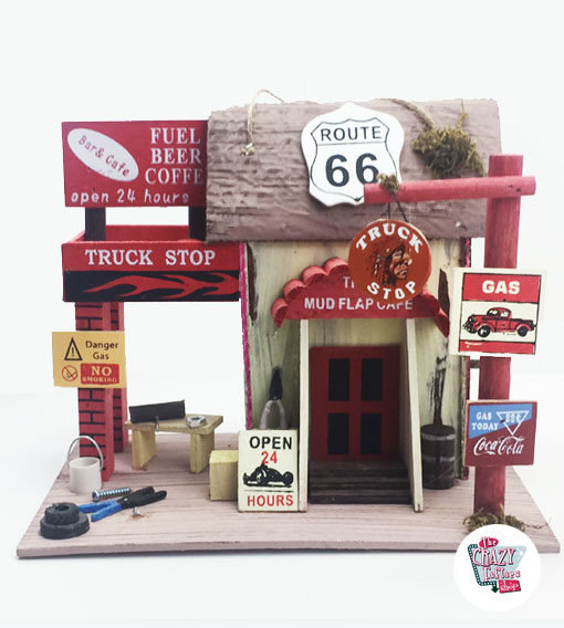 Casita Pájaros estación Route 66
