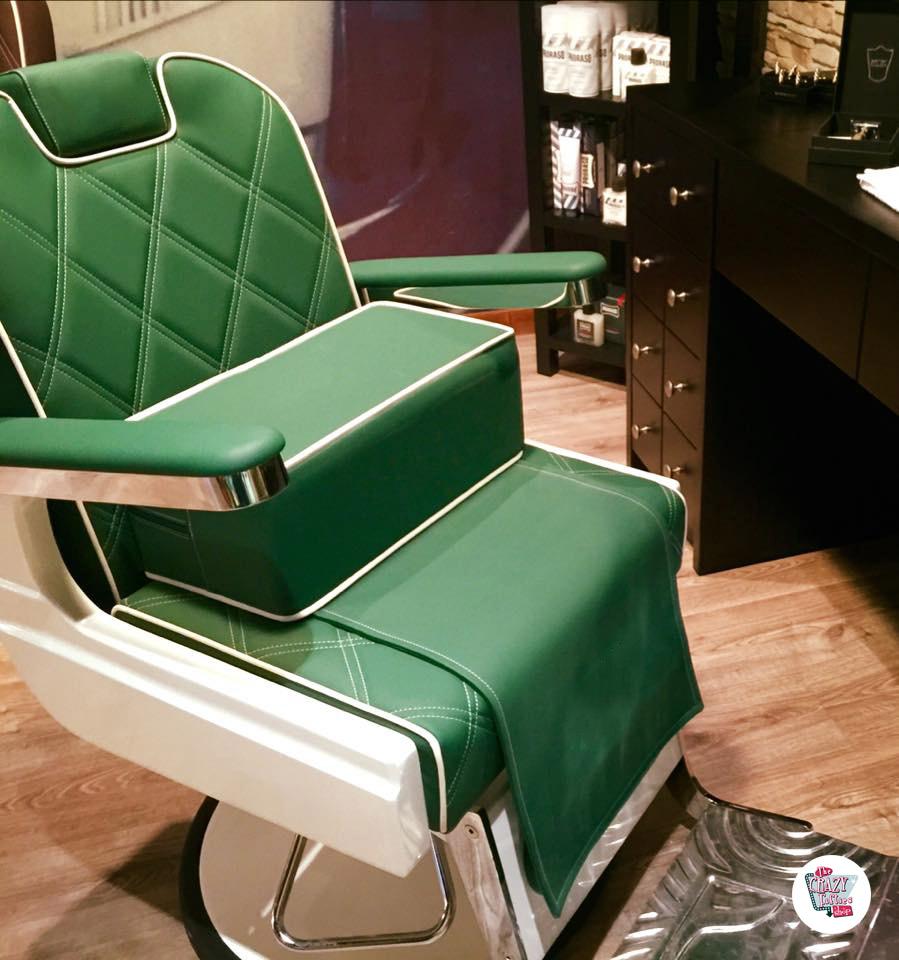 Barber cuscino sedia retrò vintage