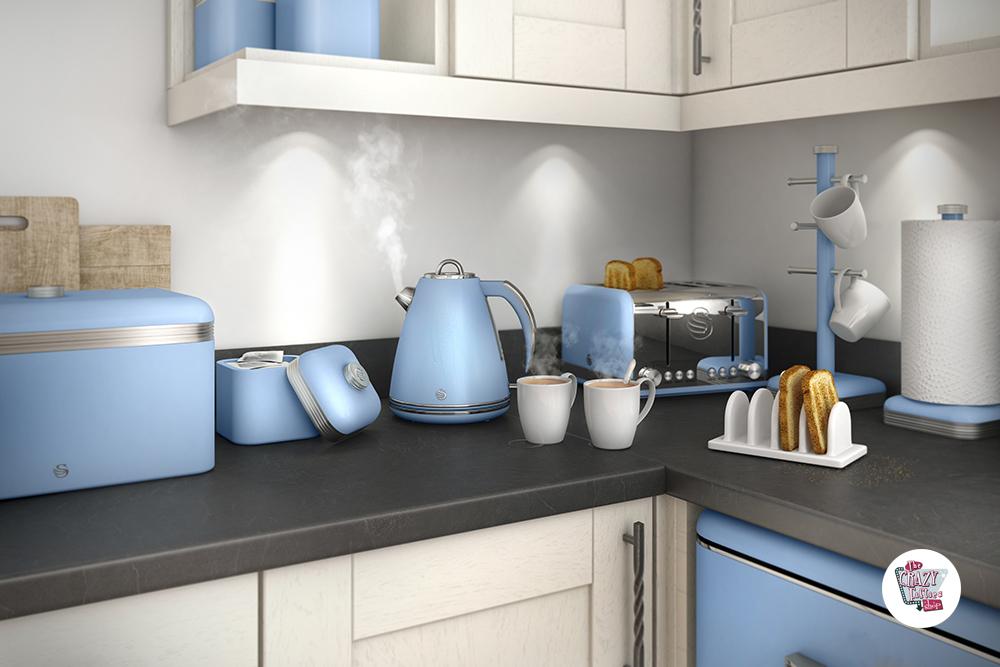Buy Online Toaster Retro 4 Thecrazyfiftieses - Cocina-retro-vintage