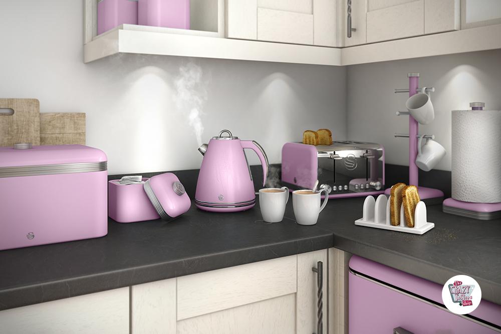 Buy Online Toaster Retro 4 Thecrazyfifties Es