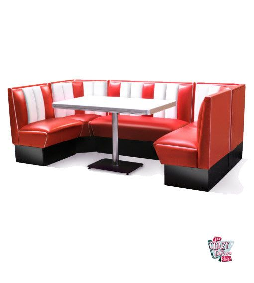 American Retro Diner Bank Nook