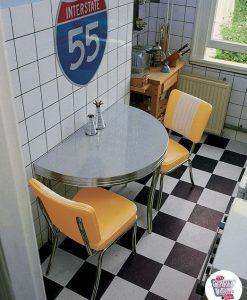 Diner rétro cuisine mis C1224