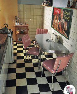 Conjunto cocina retro Americana C2425