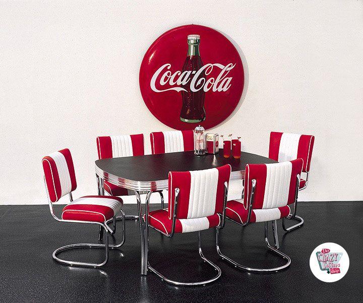 Ретро американской закусочной стулья