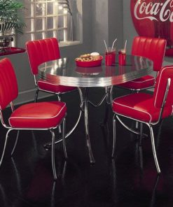 mobiliário vintage conjunto de jantar C2625