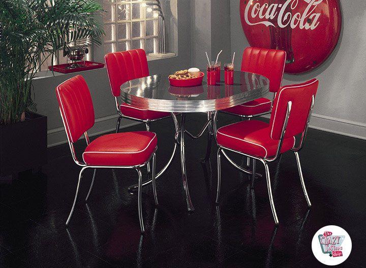 Conjunto Vintage muebles comedor