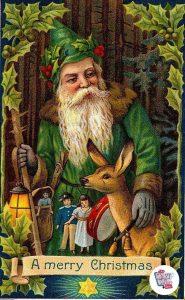 Julemanden, Julemanden, San Nicolas