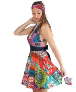 Vintage Forklæde Hippy Frida