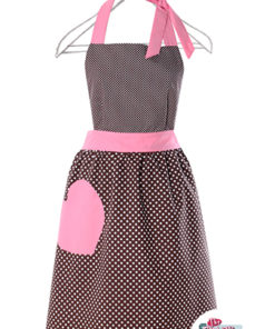 Vintage Apron Olivia Strawberry and Chocolate