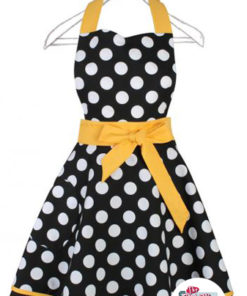 Tablier vintage pois Sharon