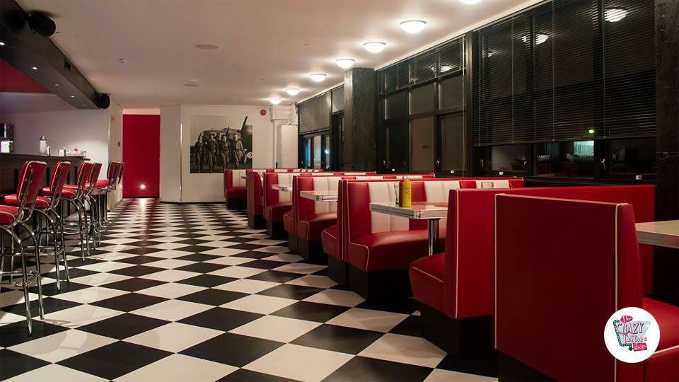 Dekorere ideer American Diner