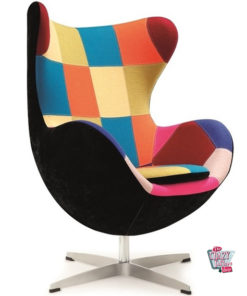 Egg Chair Patchwork