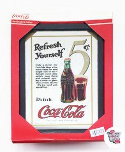 Espejo Coca-Cola Retro
