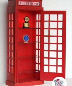 Engelska hylla Betaltelefon