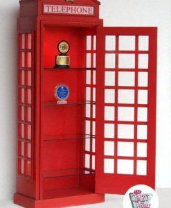 Englisch Regal Münztelefon