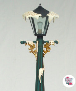 Street lampe dekorasjon Jul med lys