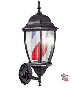 Black barber lantern