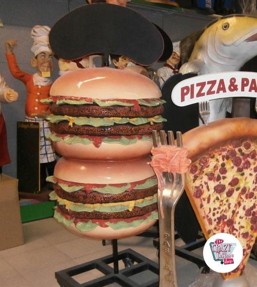 Figur Food Burger med Slate