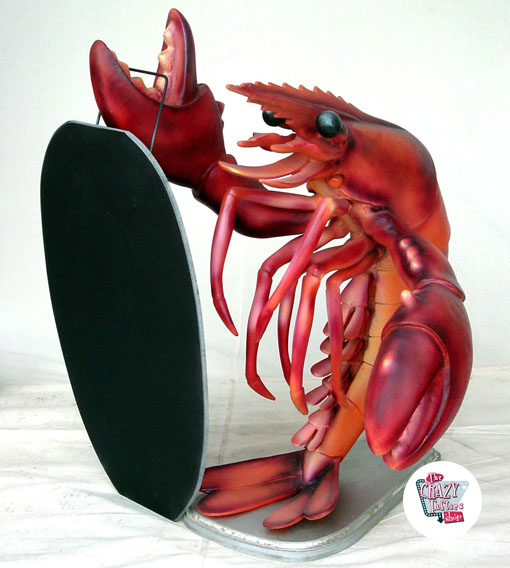 Figur Food Lobster med Slate