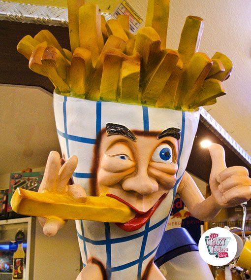 Figura Comida Patatas Fritas