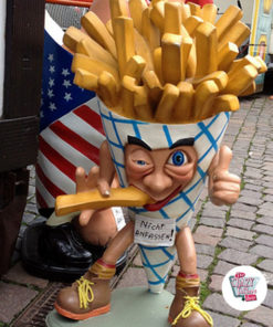 Figur Mat French Fries