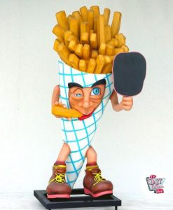 Figur Mat French Fries med Slate