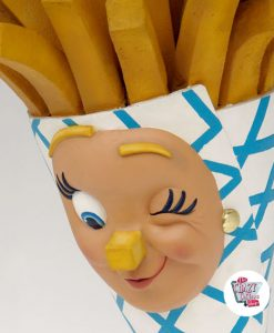 Figur Food French Fries Wall