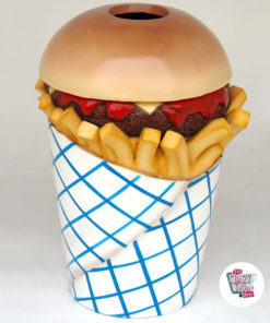 Figure Food Bin Burger and Fries