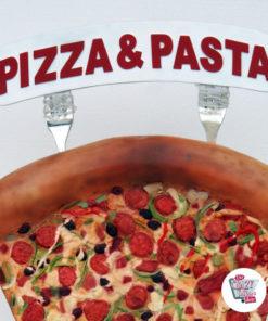 Figura Servire alimenti Pizza
