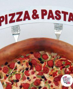 Figur Mad Visning Pizza