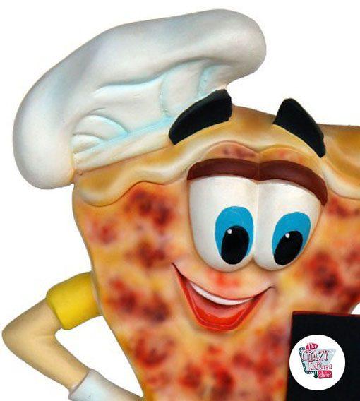 Figura Comida Porción Pizza con Menú