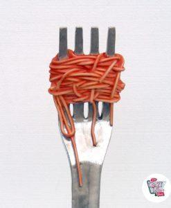 Figur Food Fork Pasta