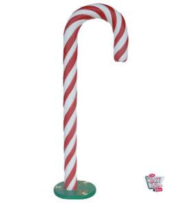 Figur Juldekorasjon Stor Candy Cane