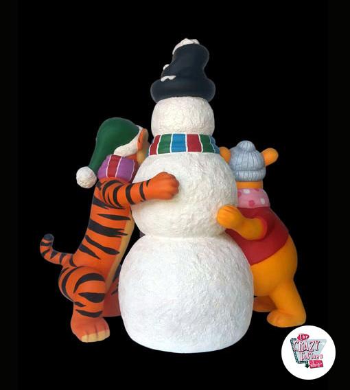 Weihnachtsdekoration schneemann tiger und puuh for Dekoration schneemann