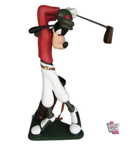 Figur Goofy Theme Decoration Spille Golf
