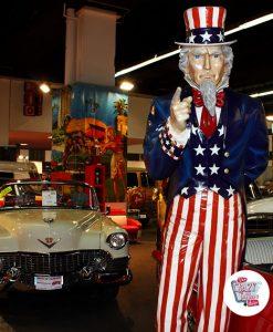 Figura Decoración Americana Tio Sam