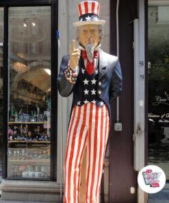 Americana Zio Sam figura Decoration
