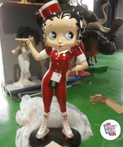 Figur Skøjter Dekoration Betty Boop Waitress