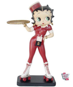 Figure Skates Décoration Betty Boop Serveuse
