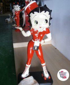 Figure Skates Dekoration Betty Boop Kellnerin