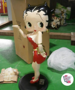 Figure Décoration Betty Boop Sexy Serveuse