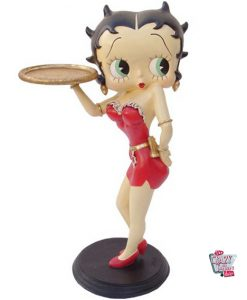 Figur Dekoration Betty Boop Sexy Waitress