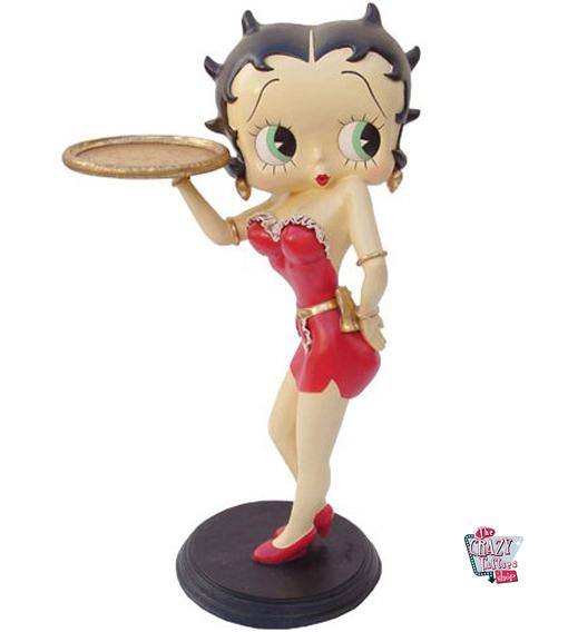 Figura Decoración Betty Boop Camarera Sexy