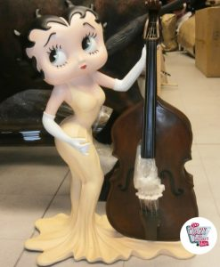 Figura decorazioni Betty Boop Con Bass