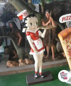 Figure Décoration Betty Boop Diner