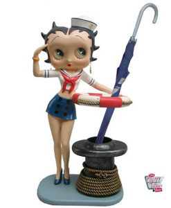 Figura decorazioni Betty Boop marinaio sexy