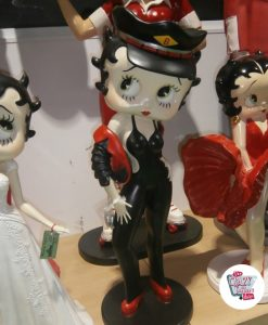 Figura Decoración Betty Boop Motera Sexy